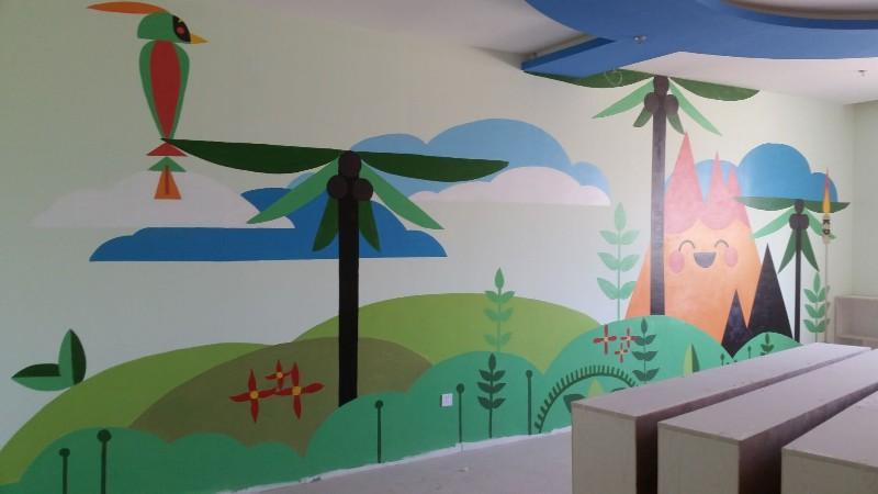 江西墙壁绘画,江西墙绘网,江西喷画公司,江西喷画